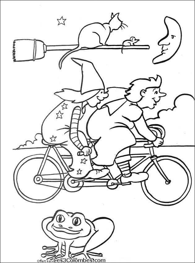 coloriages halloween 001 coloriage en ligne gratuit pour enfant. Black Bedroom Furniture Sets. Home Design Ideas
