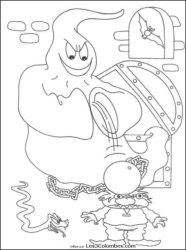 Coloriages halloween 073 coloriage en ligne gratuit pour - Coloriage en ligne enfant ...