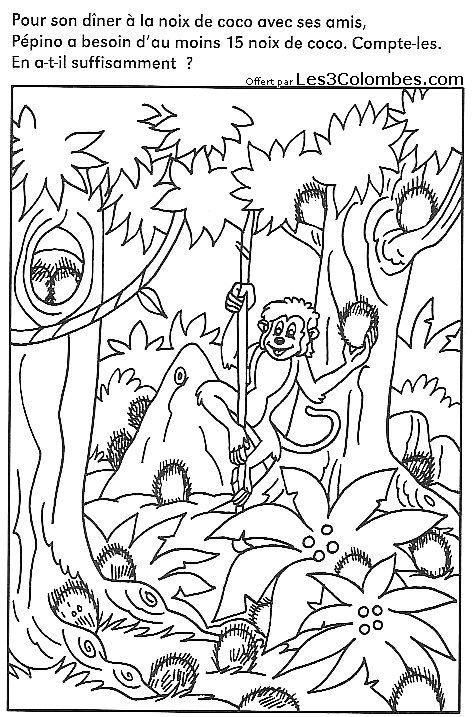 Coloriage concentration 25 coloriage en ligne gratuit pour enfant - Coloriage pour enfant en ligne ...