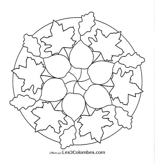 Mandala designer 58 coloriage en ligne gratuit pour enfant - Coloriage en ligne enfant ...