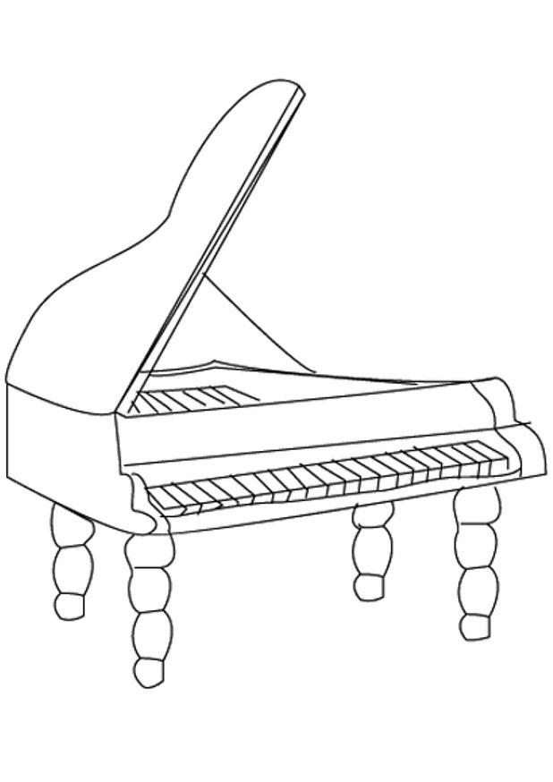 coloriage de musique piano queue 15 coloriage en ligne gratuit pour enfant musique de noel musique noel