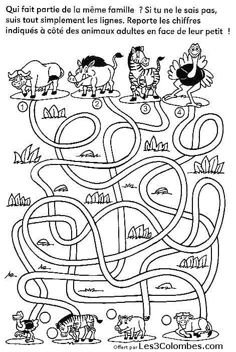 labyrinthe imprimer 17 - Coloriage en ligne gratuit pour enfant
